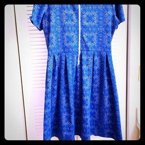 Lularoe Jacquard Fabric Amelia